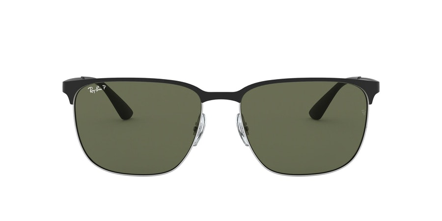 Ray-Ban 0RB3569 90049A Groen / Zilver