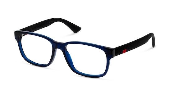 0011O 4 Blauw, Zwart