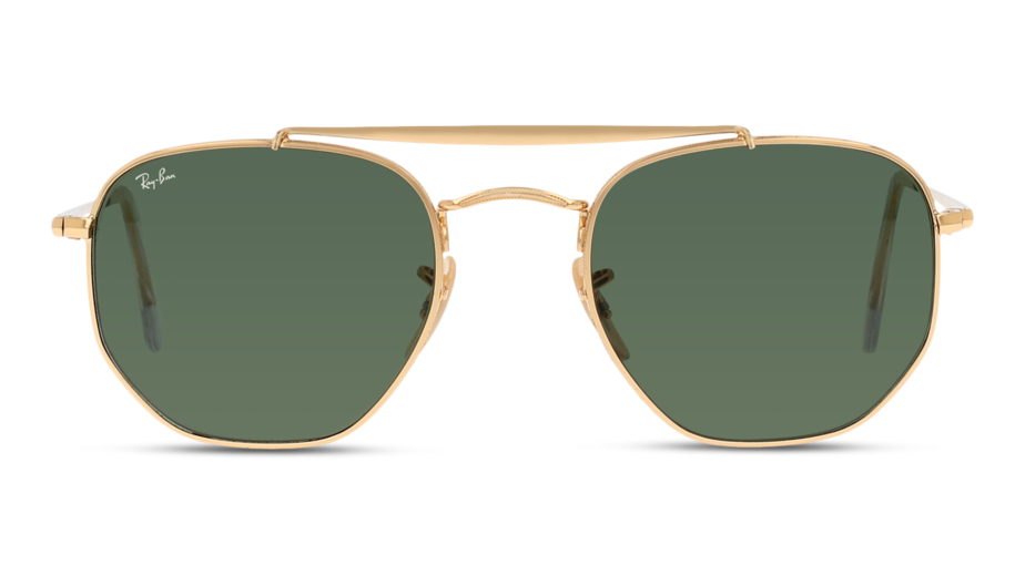 Front Ray-Ban Ray-Ban 0RB3648 1 51/21 Goud/Groen