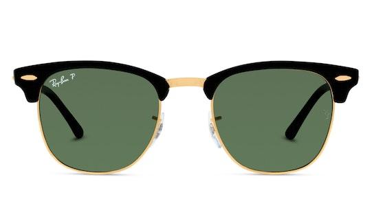 0RB3016 901/58 Groen / Zwart, Goud