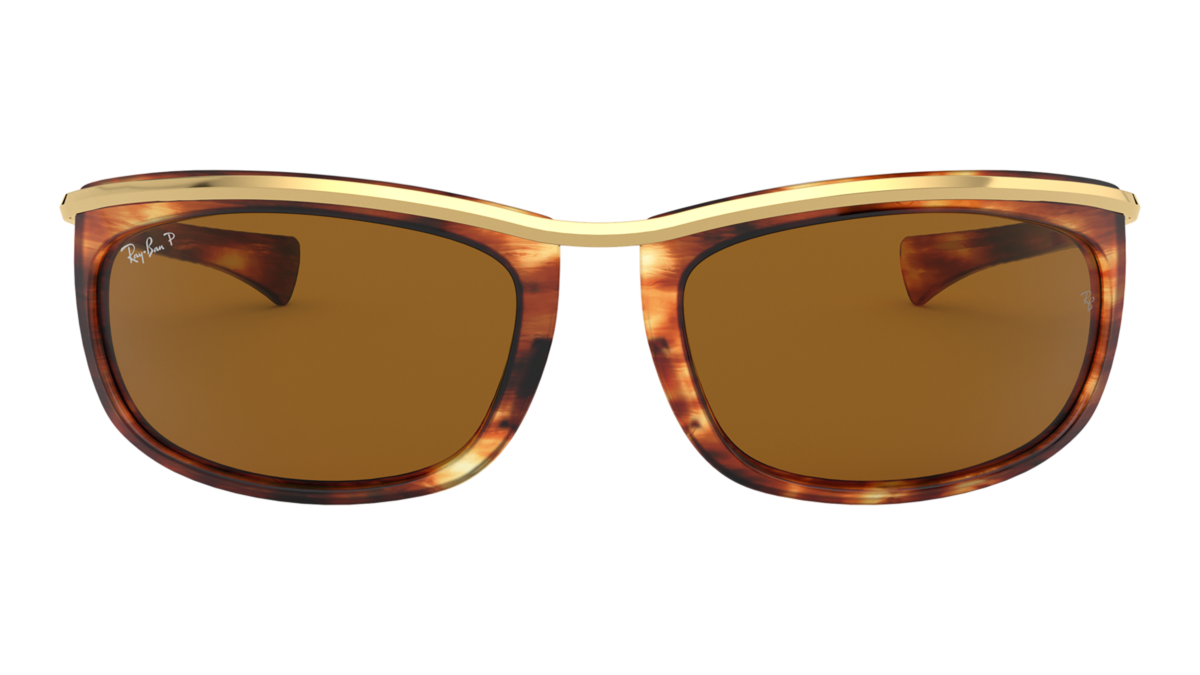 Front Ray-Ban Ray-Ban 0RB2319 954/57 62/19 Bruin, Goud/Bruin