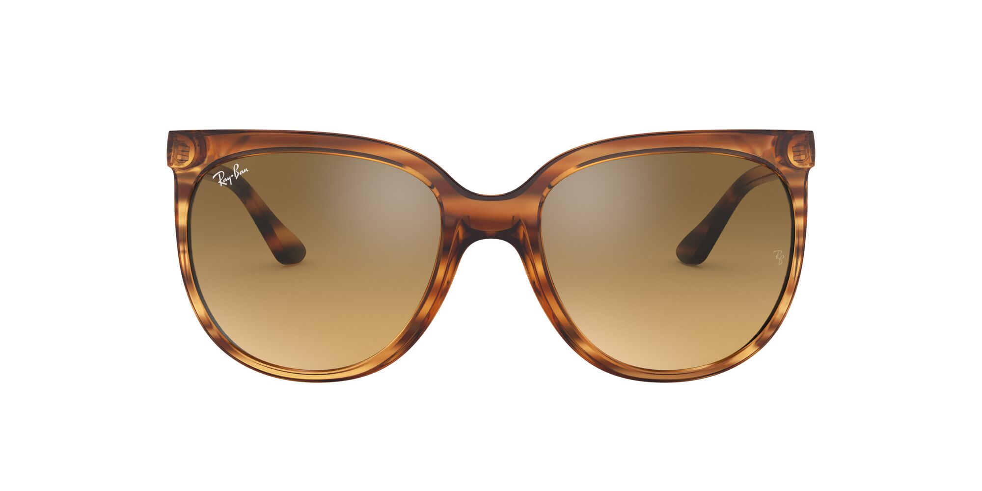 Front Ray-Ban Ray-Ban 0RB4126 820/3K 55/19 Rood, Bruin/Zilver