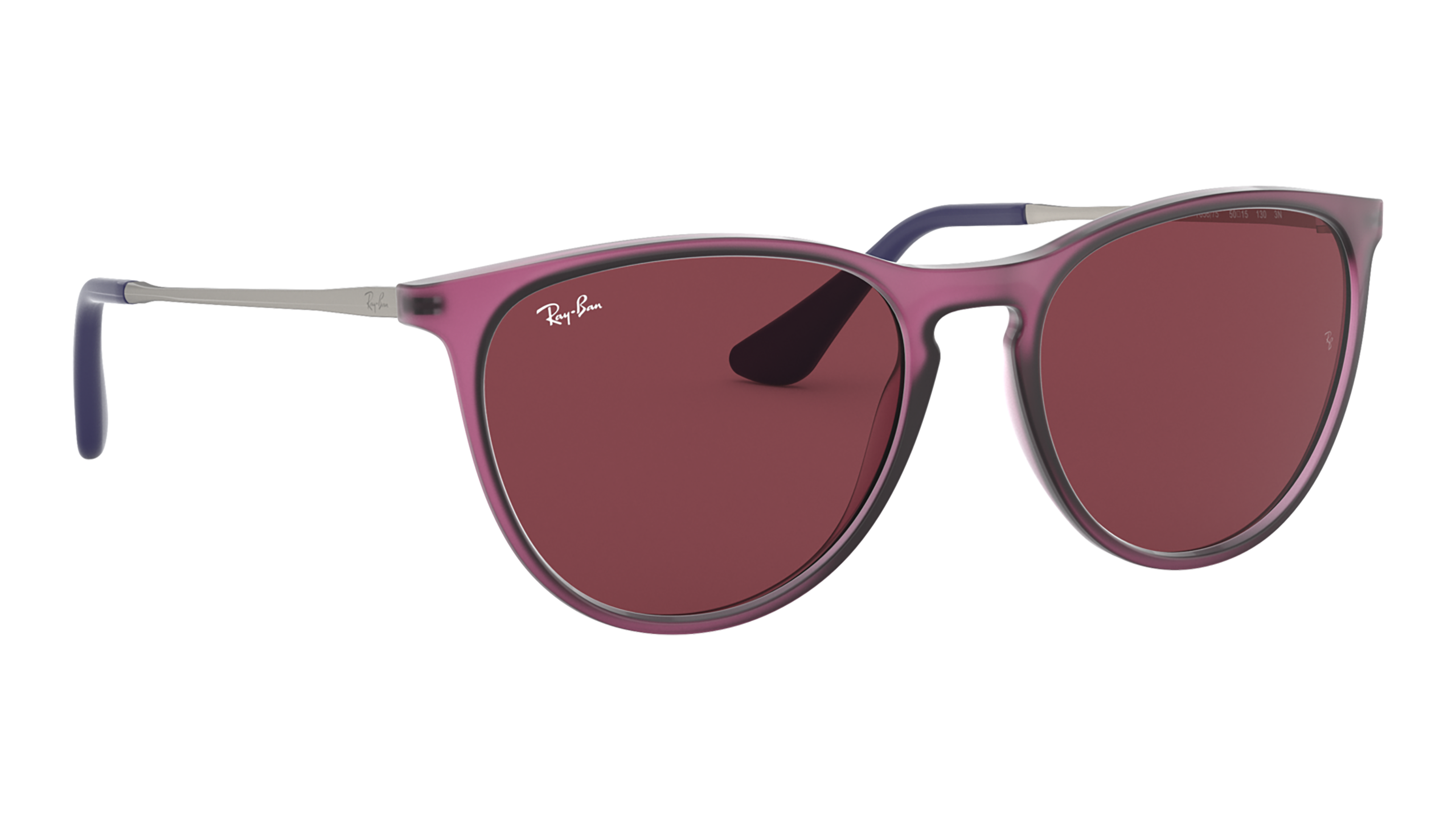 Angle_Right02 Ray-Ban Ray-Ban 0RJ9060S 705675 50/15 Paars/Roze