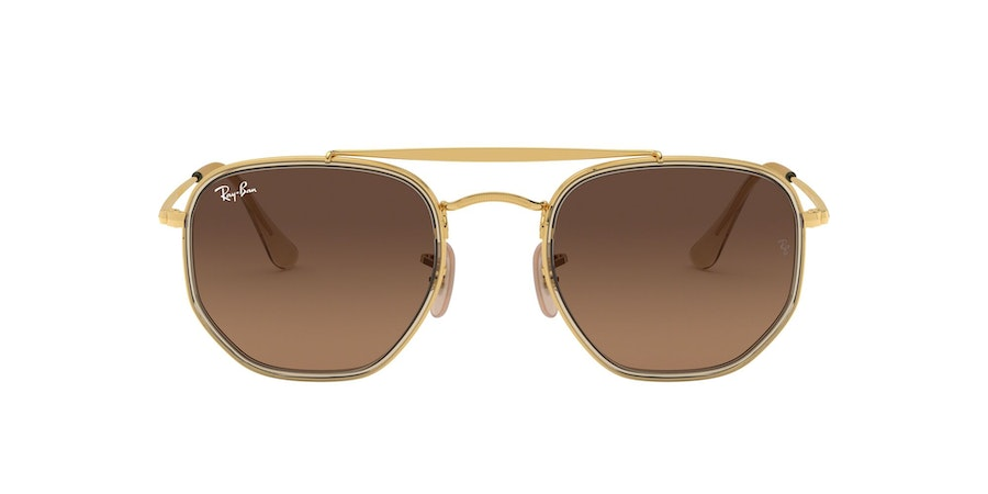 Ray-Ban 0RB3648M 912443 Bruin / Goud