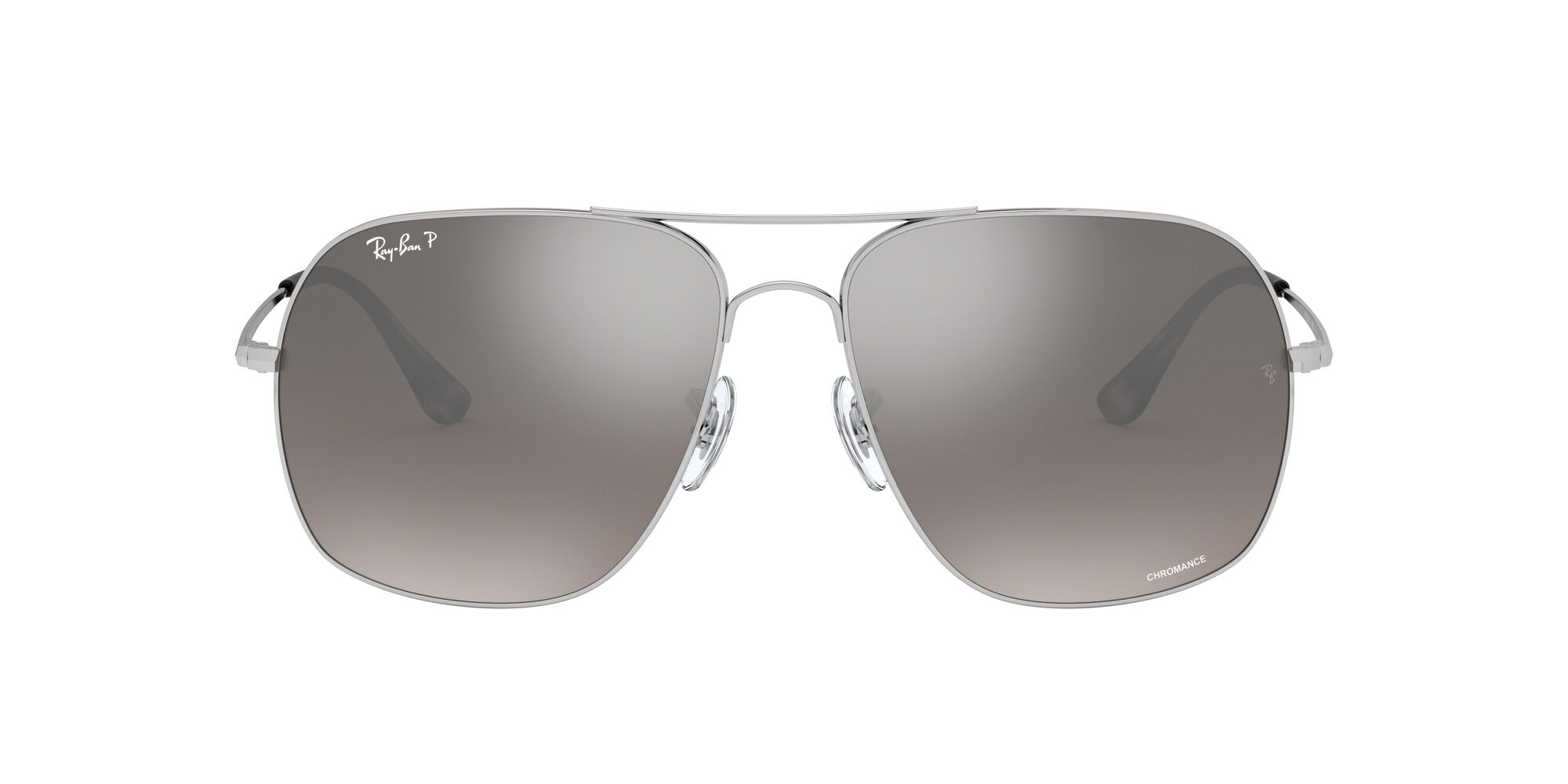 Front Ray-Ban Ray-Ban RB3587CH 003/5J 61/15 Zilver/Grijs