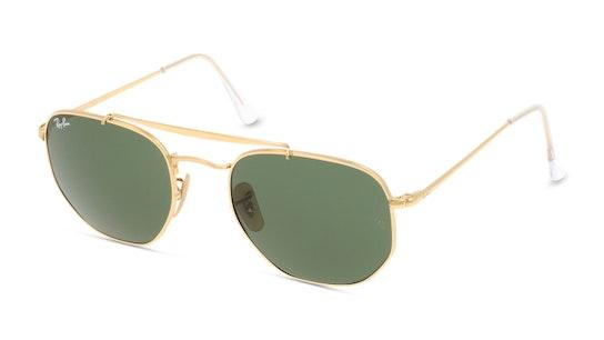 THE MARSHAL RB3648 DD Verde / Dourado