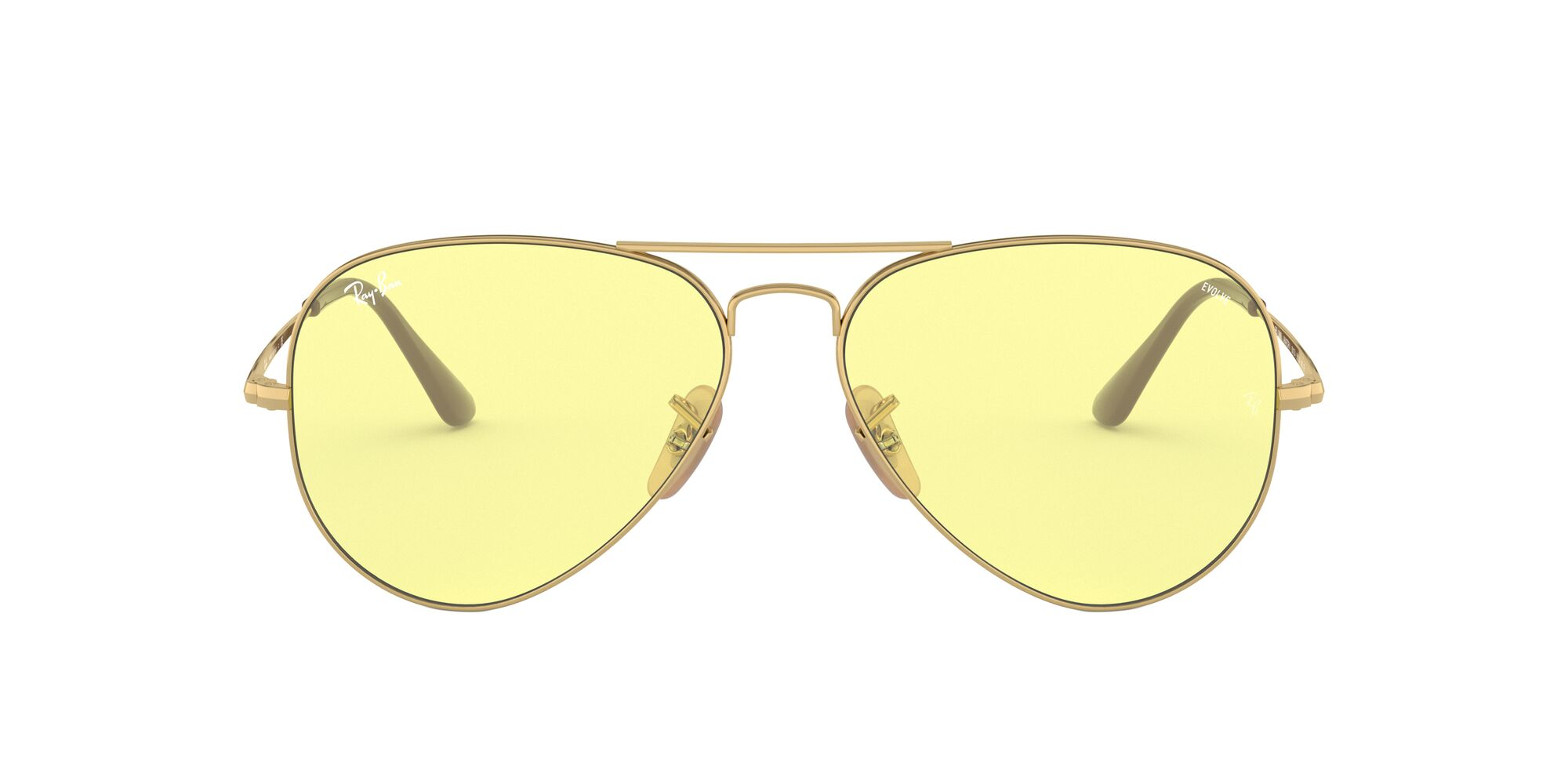 Front Ray-Ban Ray-Ban 0RB3689 001/T4 58/14 Goud/Geel
