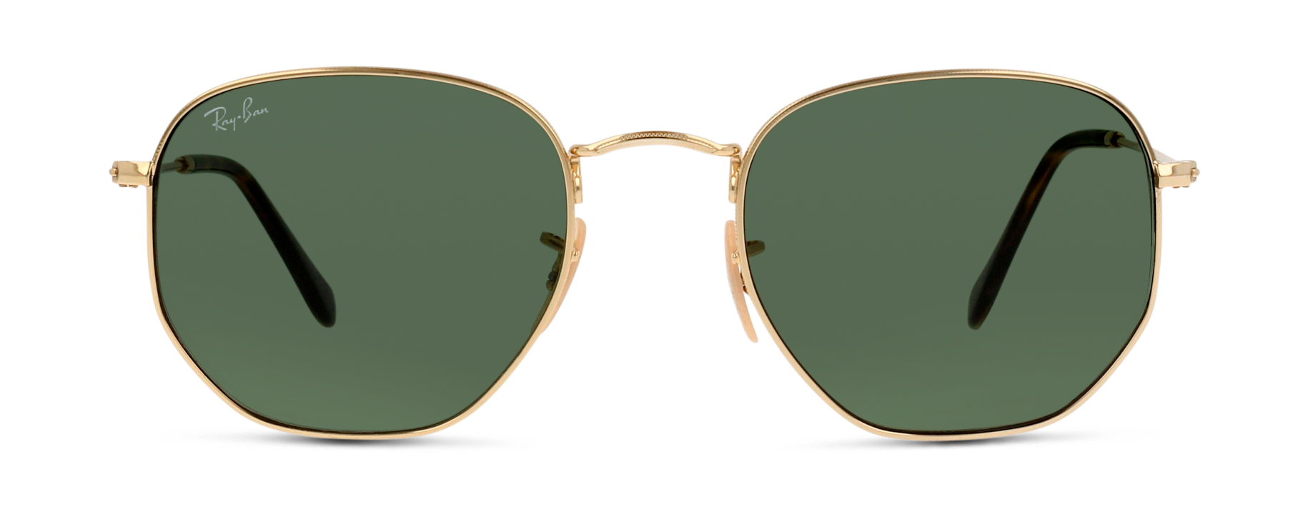Front Ray-Ban RayBan 3548N 001 54/21 Oro/Verde