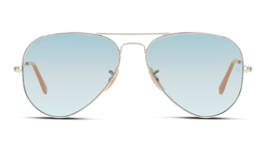 Front Ray-Ban Ray-Ban 0RB3025 9065I5 58/14 Zilver/Blauw