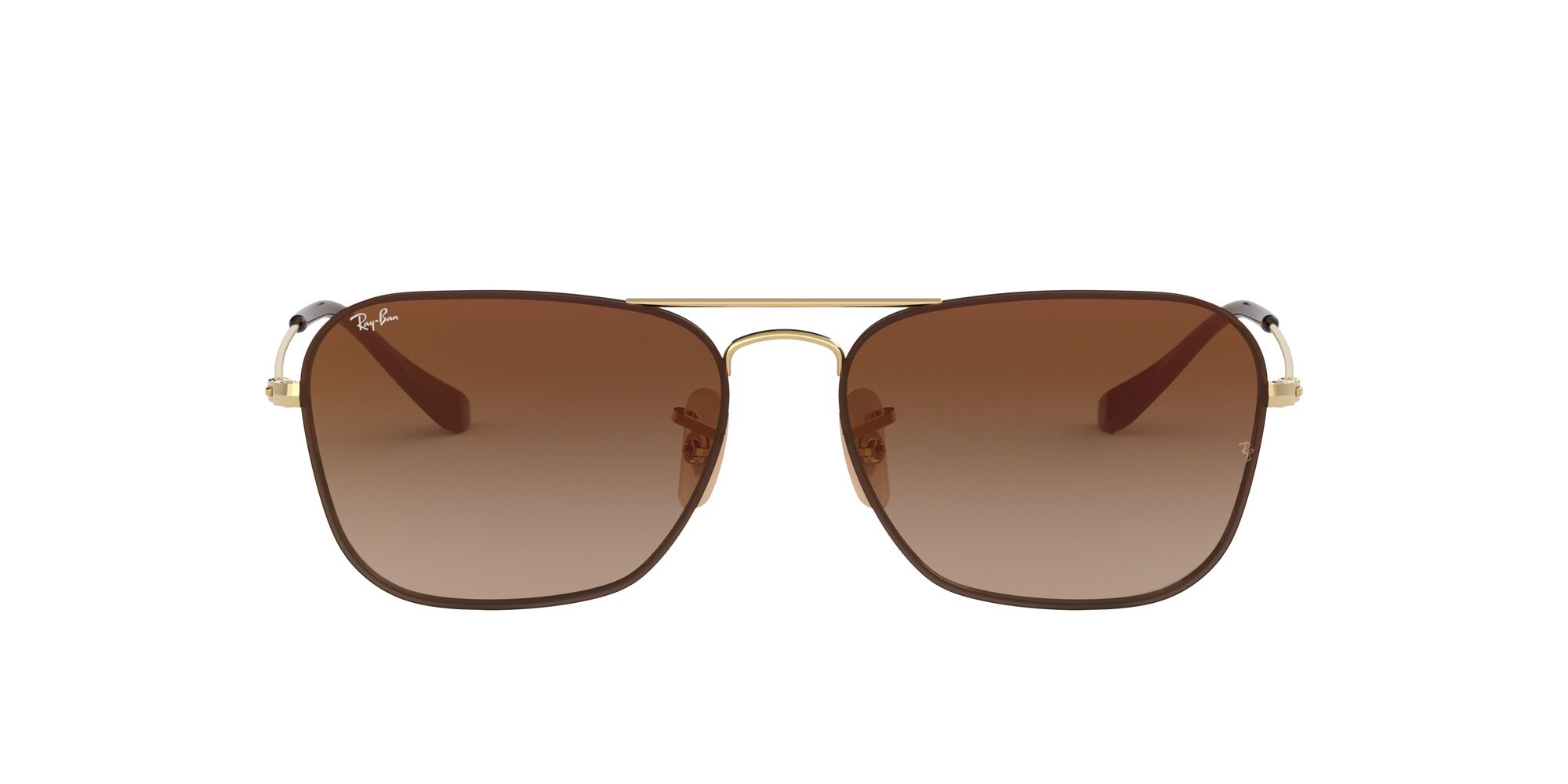 Front Ray-Ban Ray-Ban 0RB3603 001/S0 56/14 Goud/Bruin