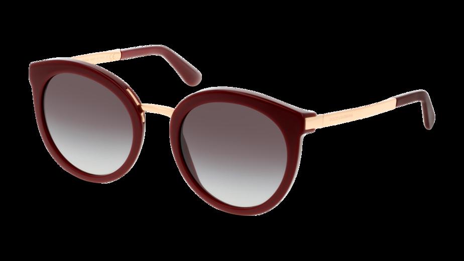 Angle_Left01 Dolce & Gabbana Dolce & Gabbana 4268 30918G 52/22 Rood/Grijs