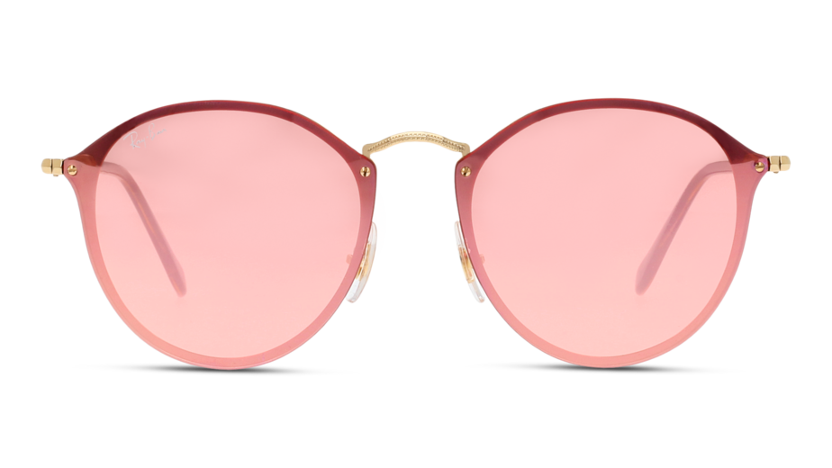 Front Ray-Ban Ray-Ban 3574N 001/E4 59/99 Goud/Roze