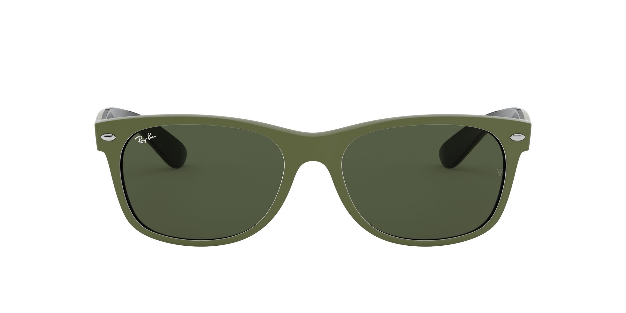 Front Ray-Ban Ray-Ban 0RB2132 646531 58/18 Groen/Groen