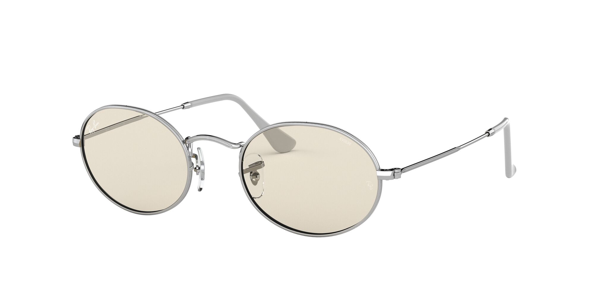 Angle_Left01 Ray-Ban Ray-Ban 0RB3547 003/T2 53/21 Zilver/Bruin