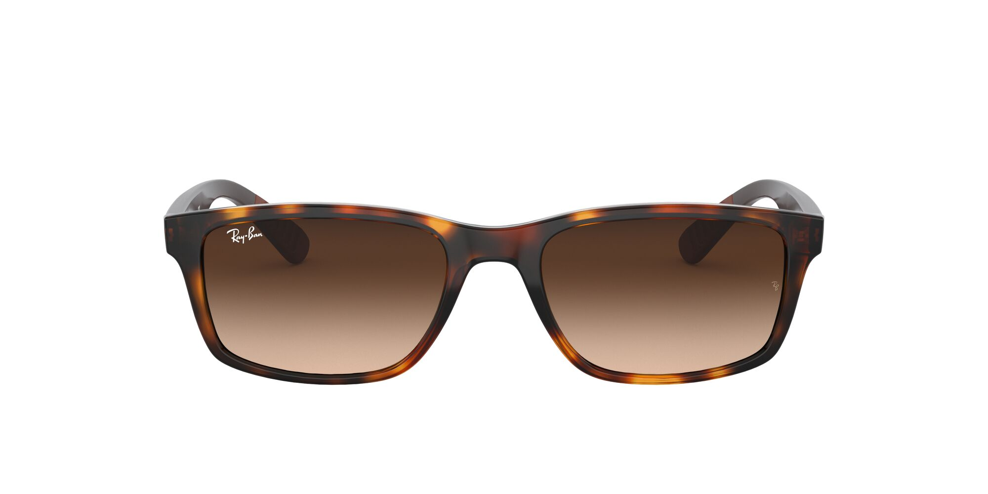 Front Ray-Ban Ray-Ban 0RB4234 620513 58/16 Bruin, Zilver/Bruin