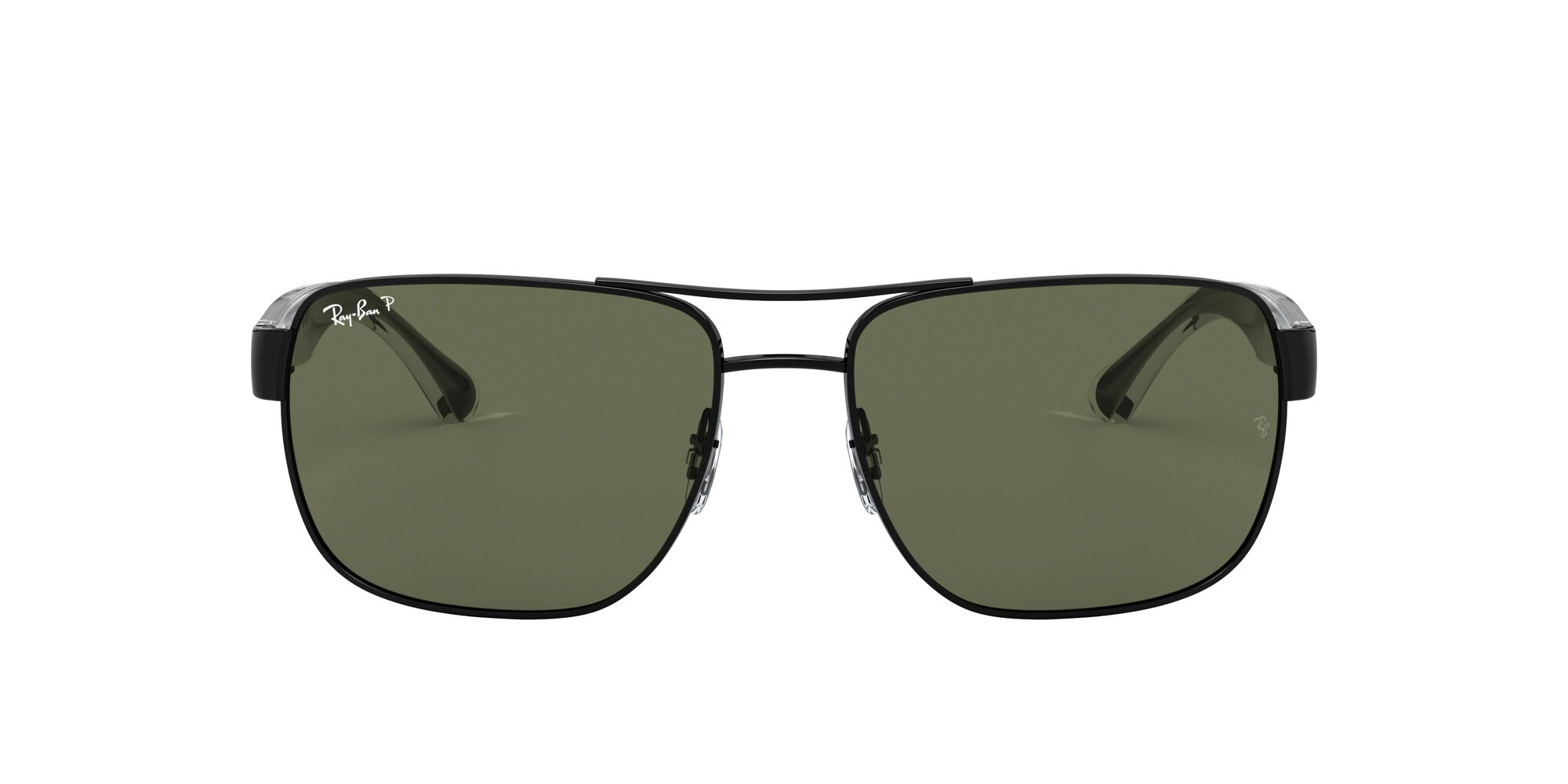 Front Ray-Ban Ray-Ban 0RB3530 002/9A 58/17 Grijs/Groen