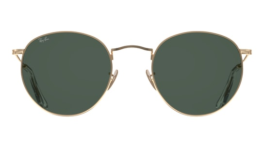 ROUND METAL SMALL RB3447 1-47/21 Verde / Oro