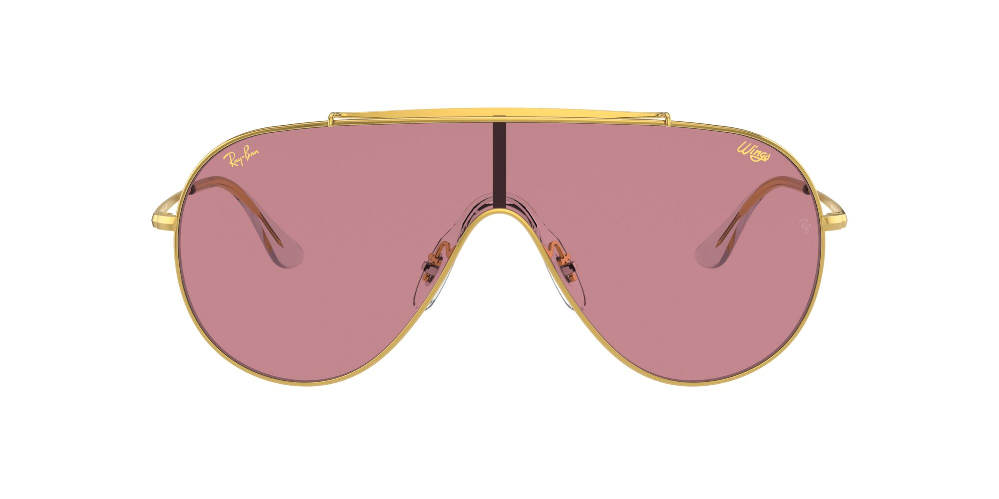 Front Ray-Ban Ray-Ban 0RB3597 919684 0/0 Goud/Roze