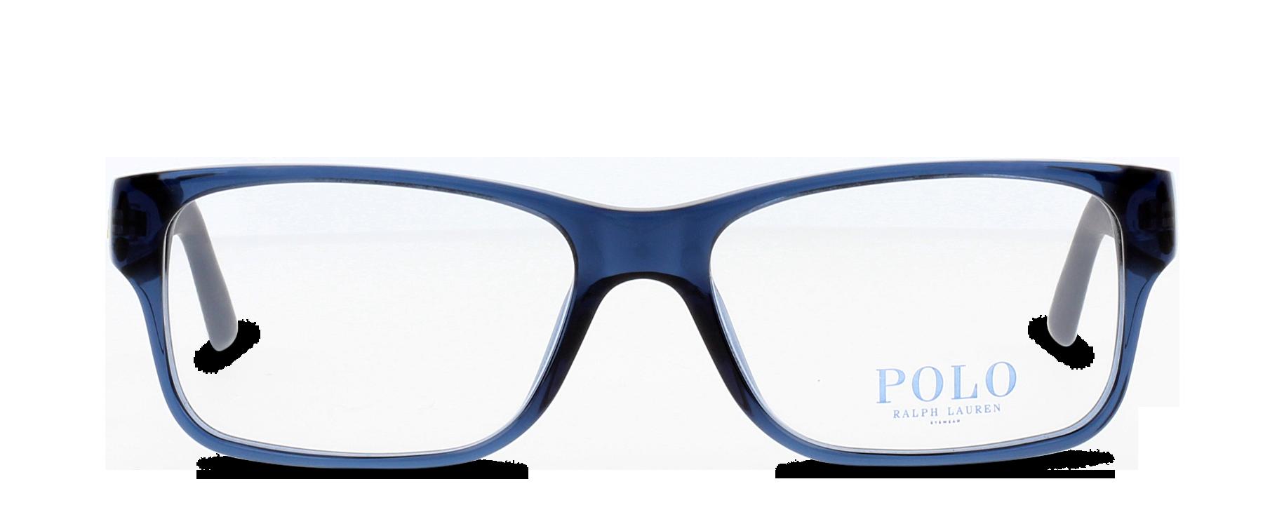 Front Polo Ralph Lauren Polo 2117 5470 54/16 Blu