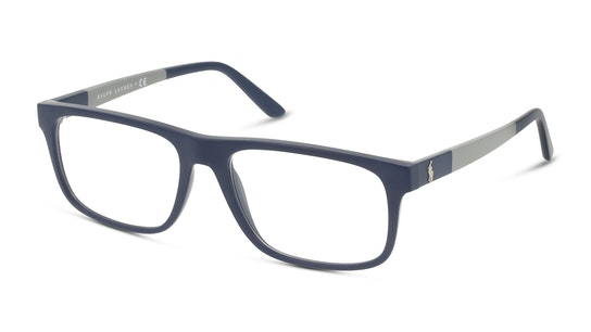 The Powell Collection 2218 Blauw, Grijs