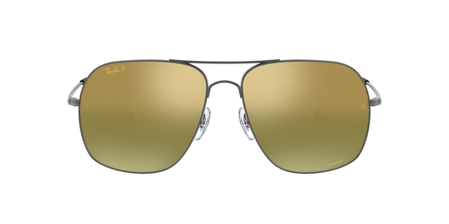 Ray-Ban RB3587CH 029/6O Groen / Zilver