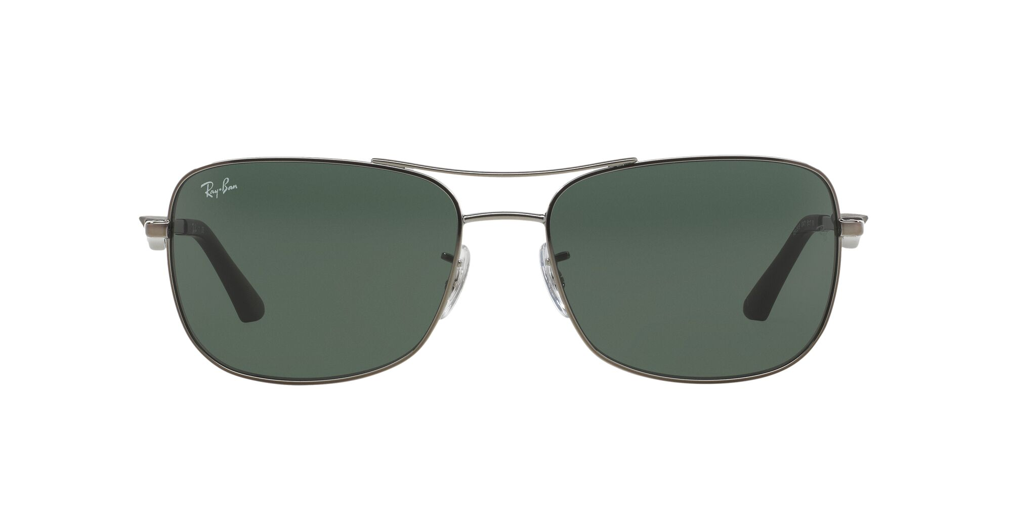 Front Ray-Ban Ray-Ban 0RB3515 004/71 61/17 Grijs/Groen