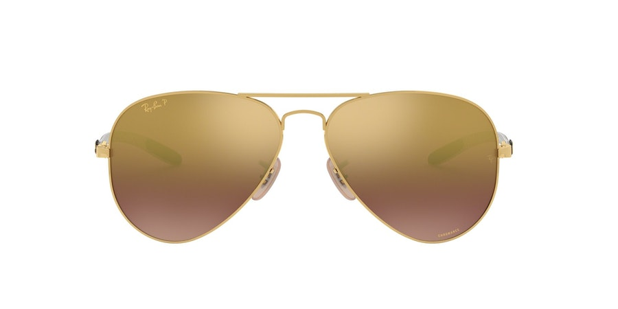 Ray-Ban 0RB8317CH 001/6B Paars / Goud