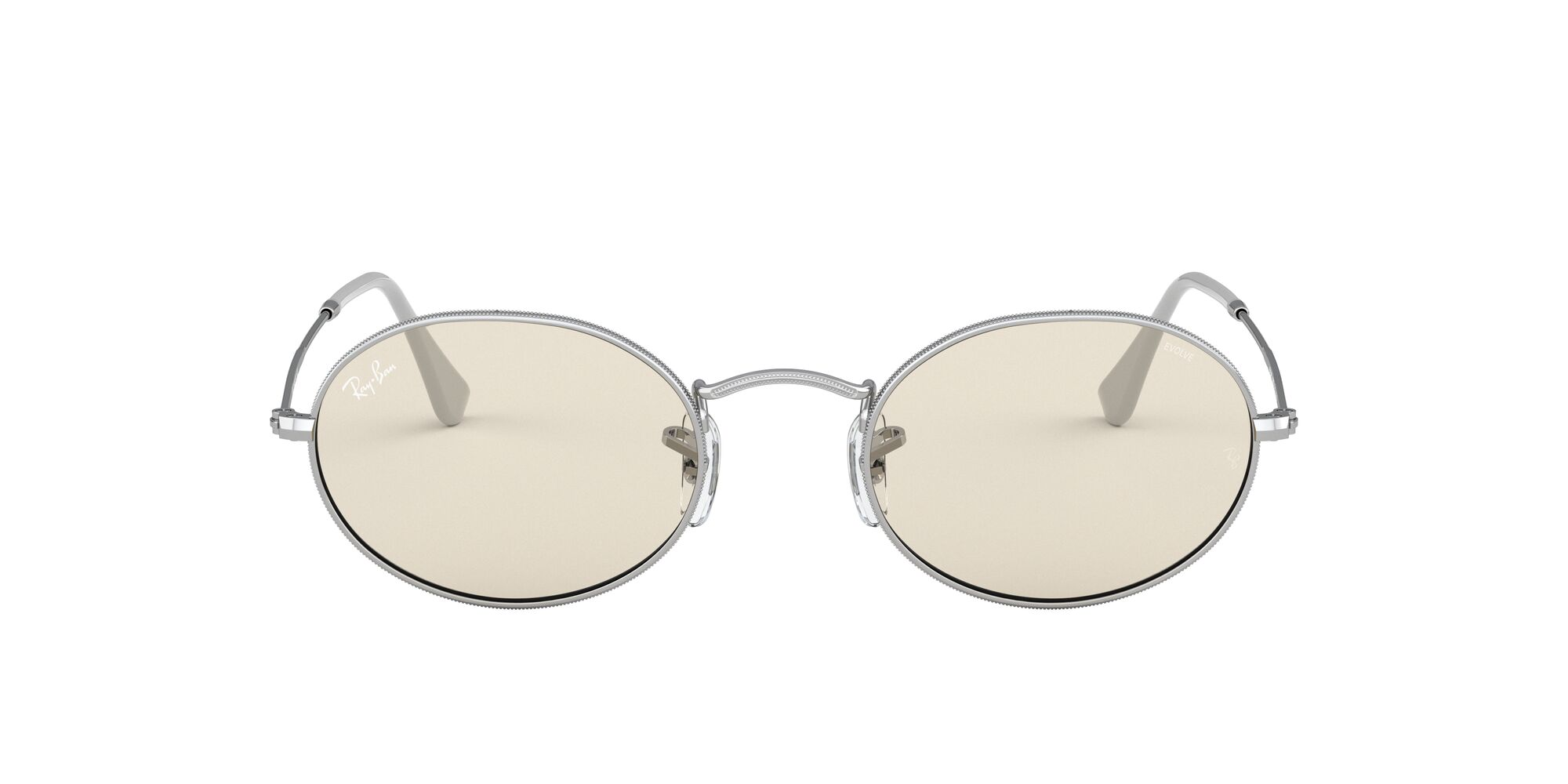 Front Ray-Ban Ray-Ban 0RB3547 003/T2 53/21 Zilver/Bruin