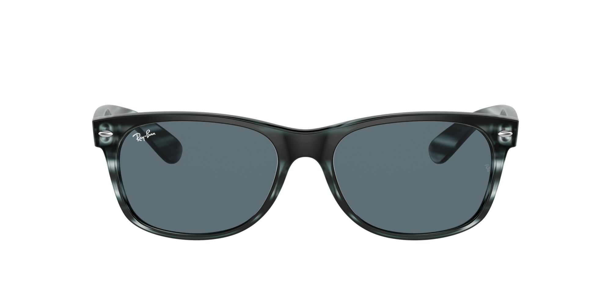 Front Ray-Ban Ray-Ban 0RB2132 6432R5 58/18 Blauw, Bruin/Blauw
