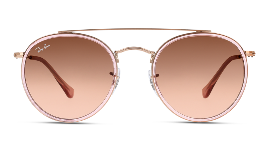 Front Ray-Ban Ray-Ban 0RB3647N 9069A5 51/22 Roze, Goud/Roze