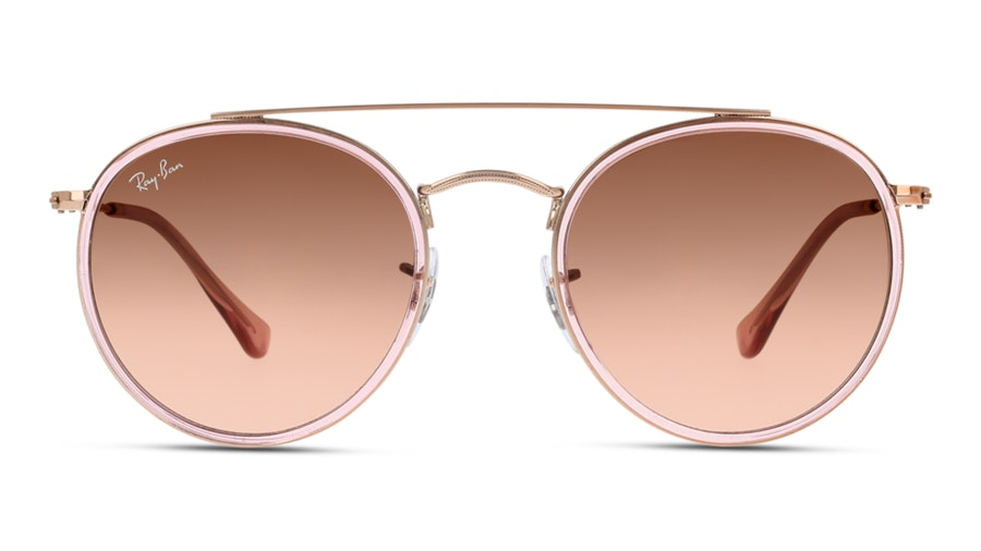 Ray-Ban 0RB3647N 9069A5 Roze / Roze, Goud