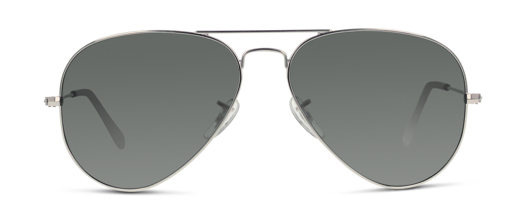 Front Ray-Ban Ray-Ban 3025 W3277 58/14 Zilver/Zilver