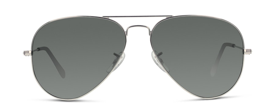 Ray-Ban AVIATOR LARGE METAL 3025 W3277 Zilver