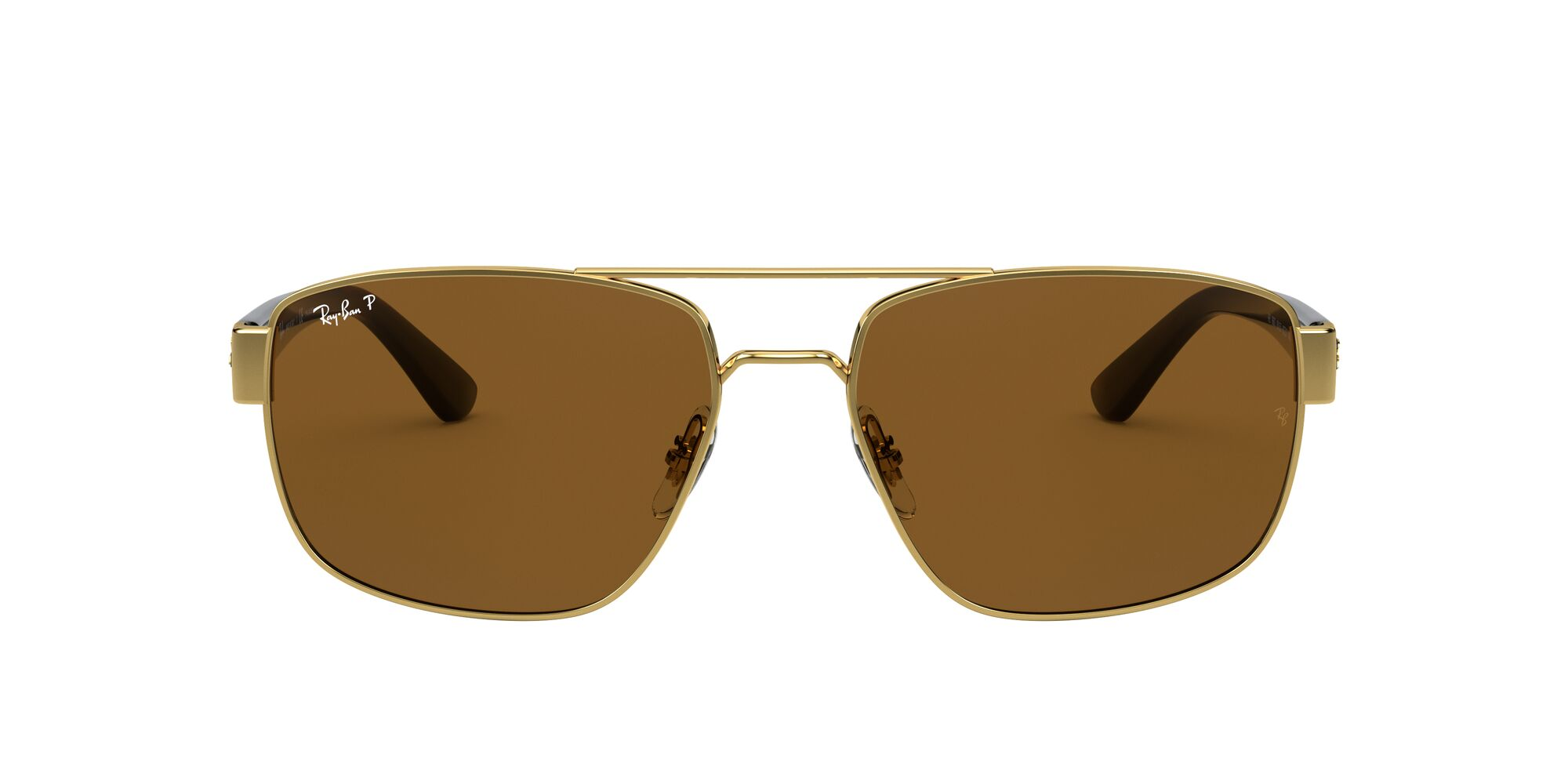 Front Ray-Ban Ray-Ban 0RB3663 001/57 59/17 Goud/Grijs
