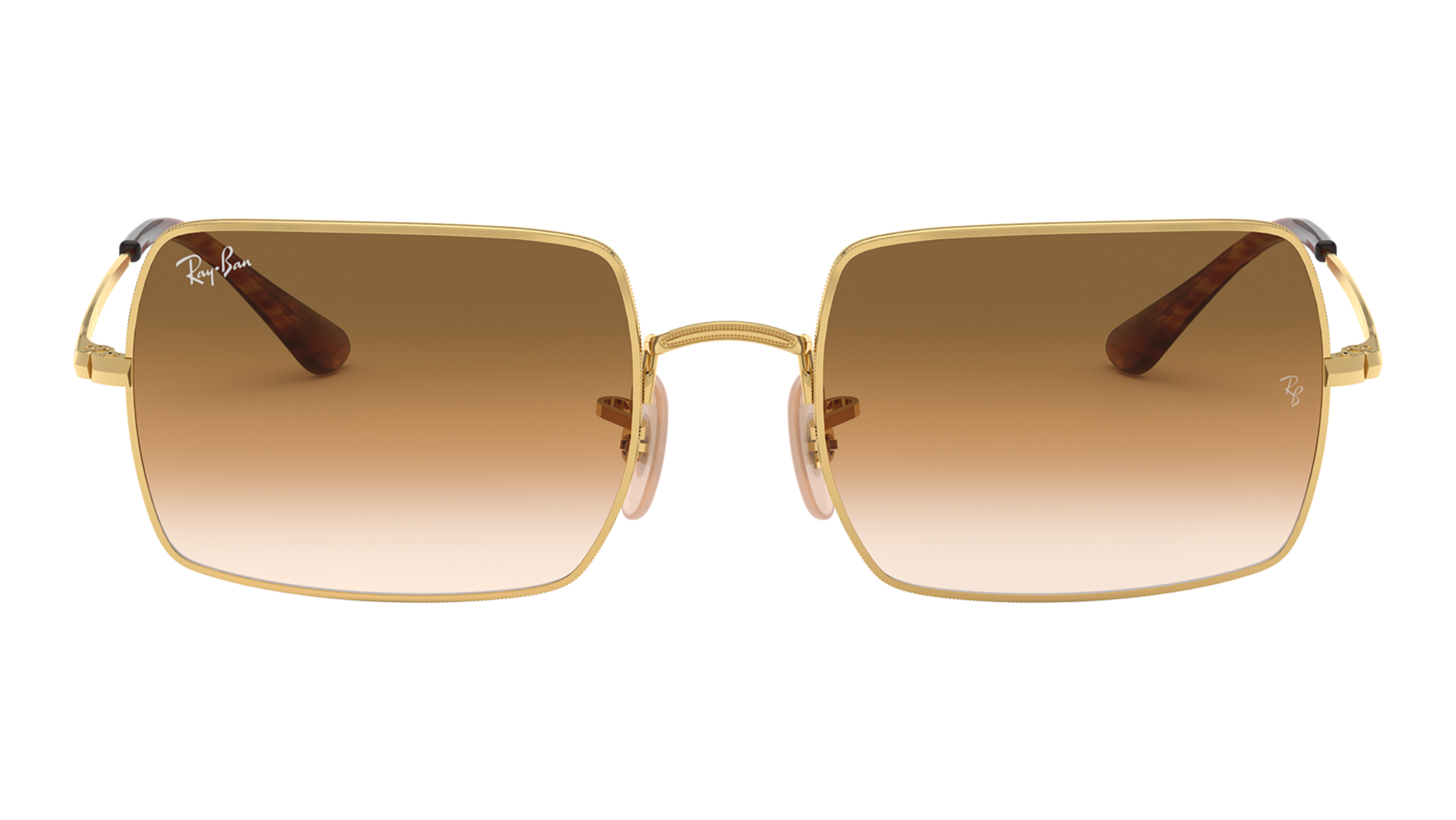 Front Ray-Ban Ray-Ban 0RB1969 914751 54/19 Goud/Bruin