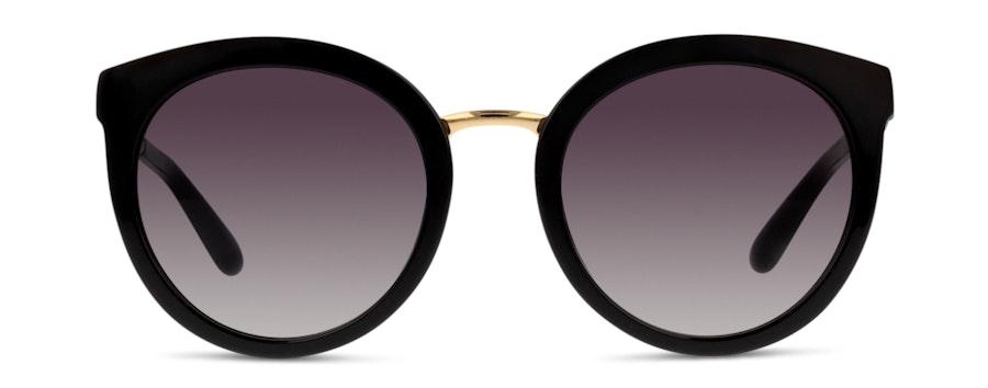 Dolce & Gabbana DG4268 501/8G Cinza / Preto e Dourado