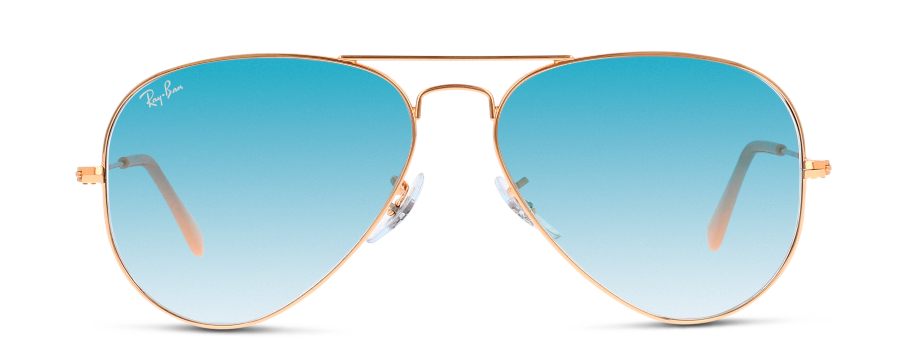 Front Ray-Ban 0RB3025/001-3F/6214/140 Guld