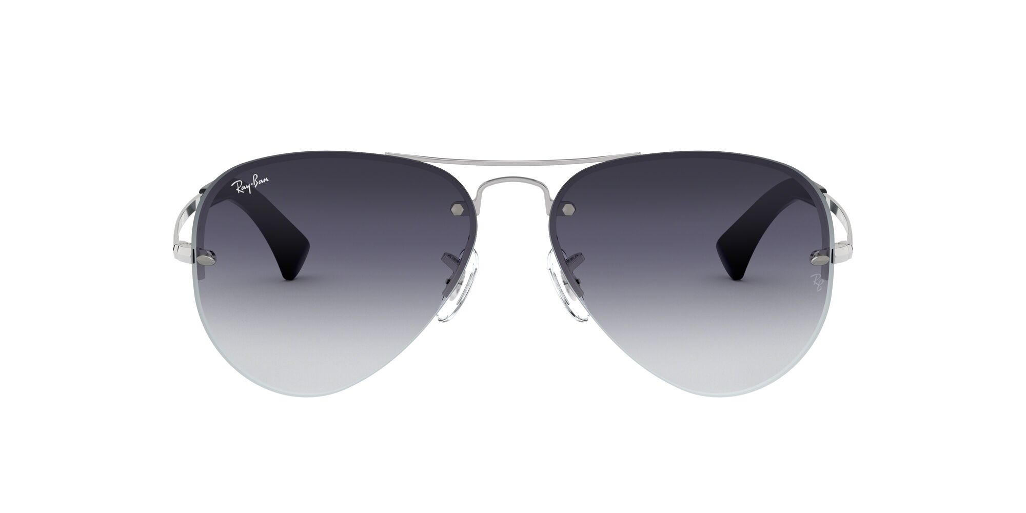 Front Ray-Ban Ray-Ban RB3449 003/8G 59/14 Zilver/Grijs