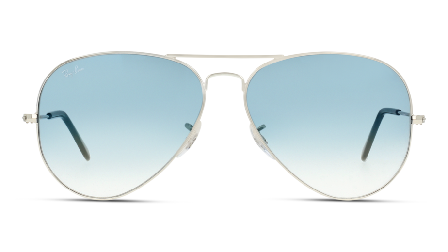 Front Ray-Ban 0RB3025/003-3F/6214/140 Sølv