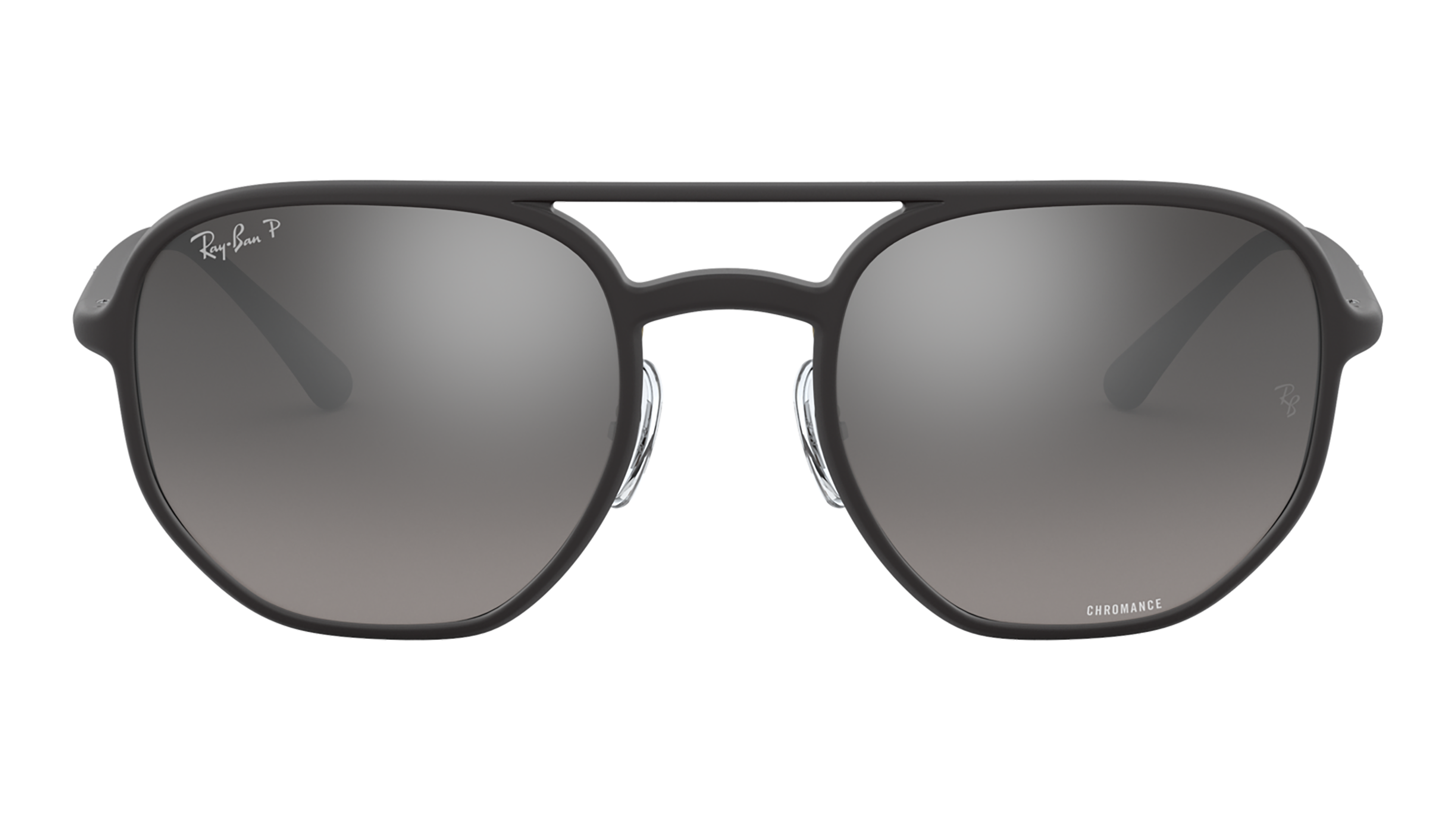 Front Ray-Ban Ray-Ban 0RB4321CH 601S5J 53/21 Zwart/Grijs