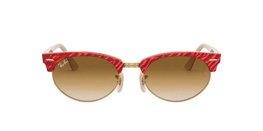 Ray-Ban 0RB3946 130851 Bruin / Rood, Beige