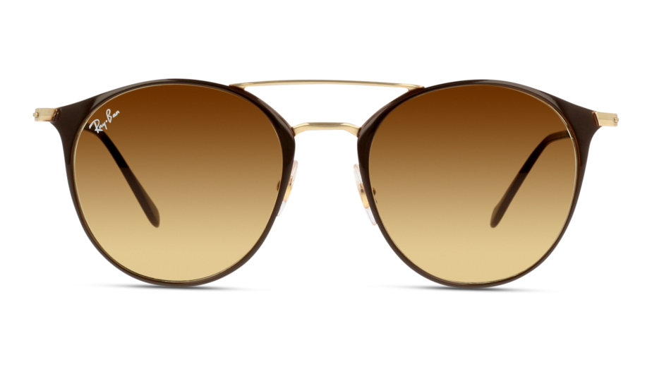 Front Ray-Ban 0RB3546/900985/5220/145 Brun