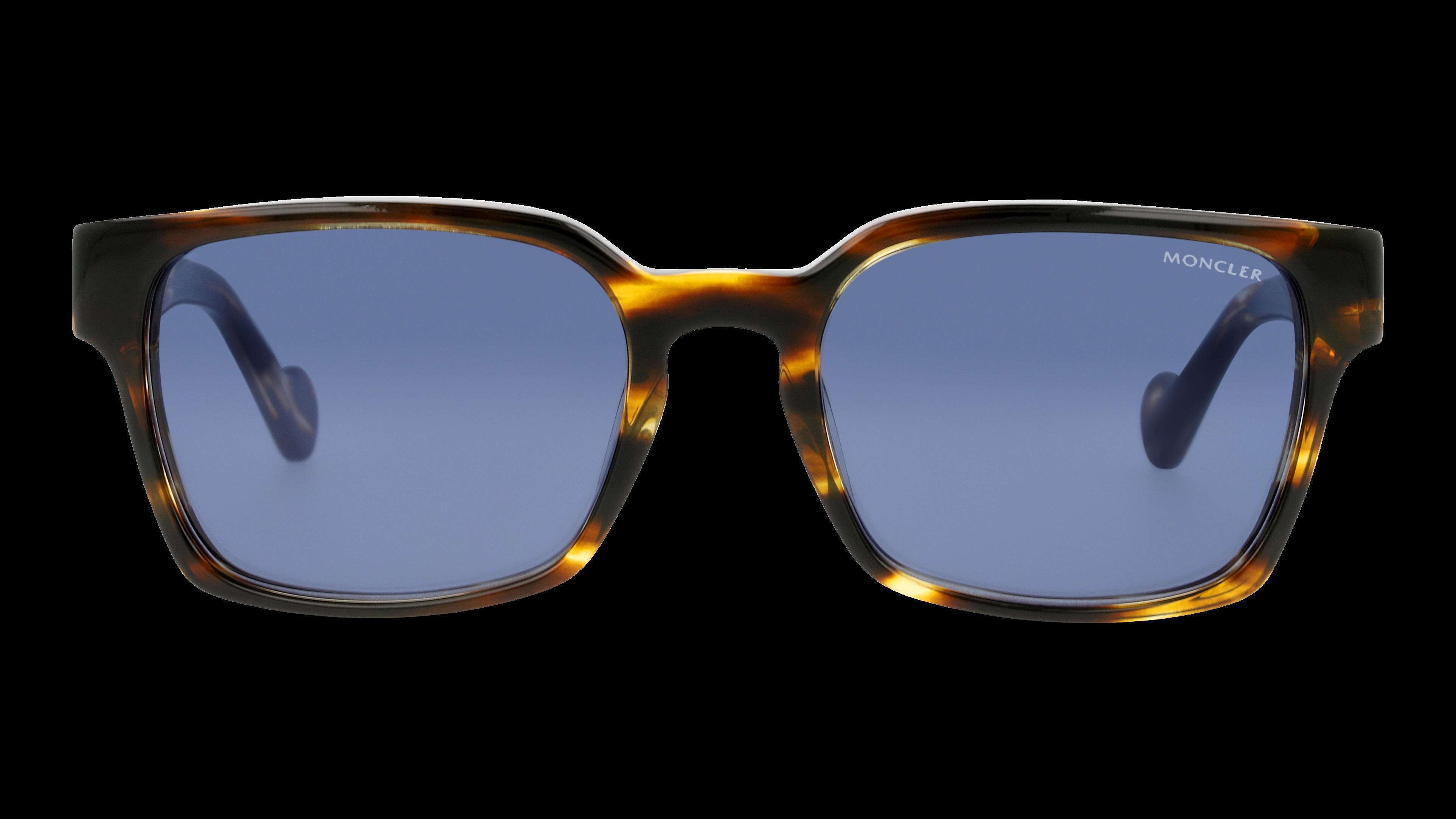 Front Moncler Moncler 0143 50X Marrone/Blu