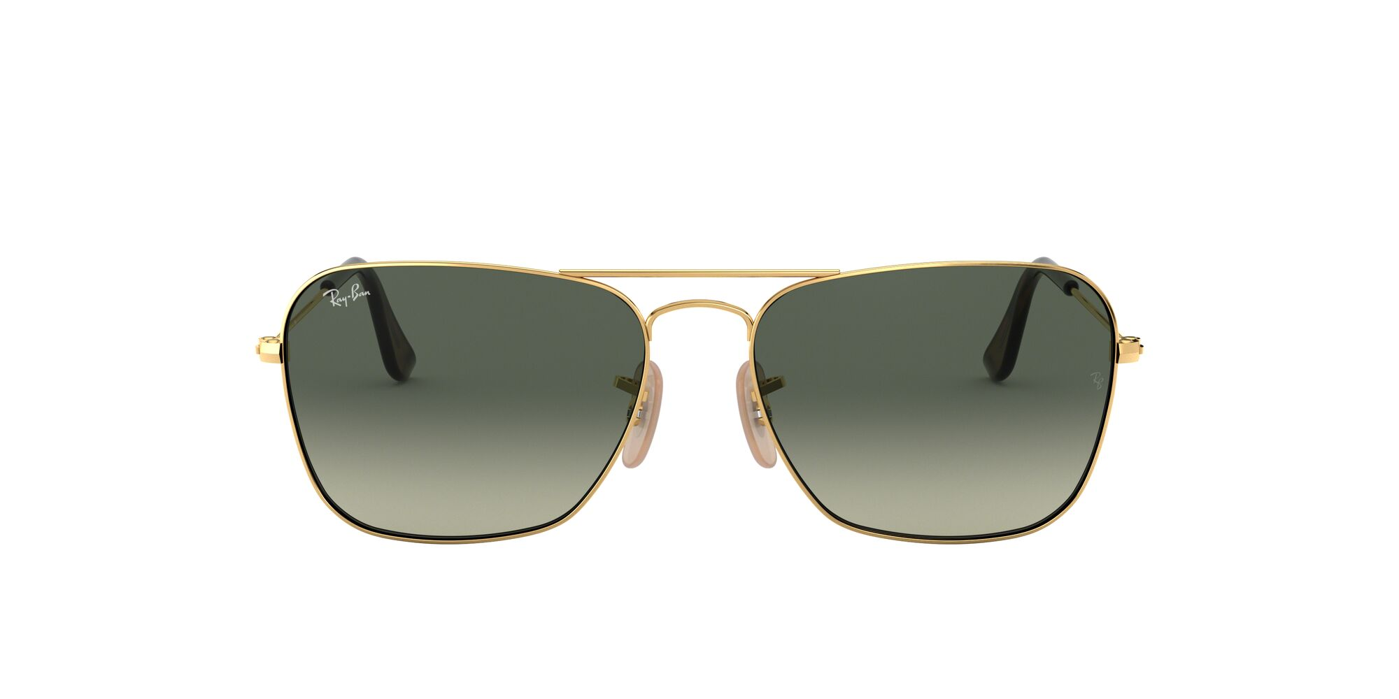 Front Ray-Ban Ray-Ban 0RB3136 181/71 55/15 Goud/Grijs