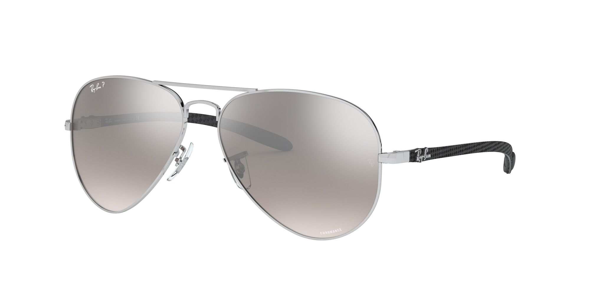 Angle_Left01 Ray-Ban Ray-Ban 0RB8317CH 003/5J 58/14 Zilver/Grijs