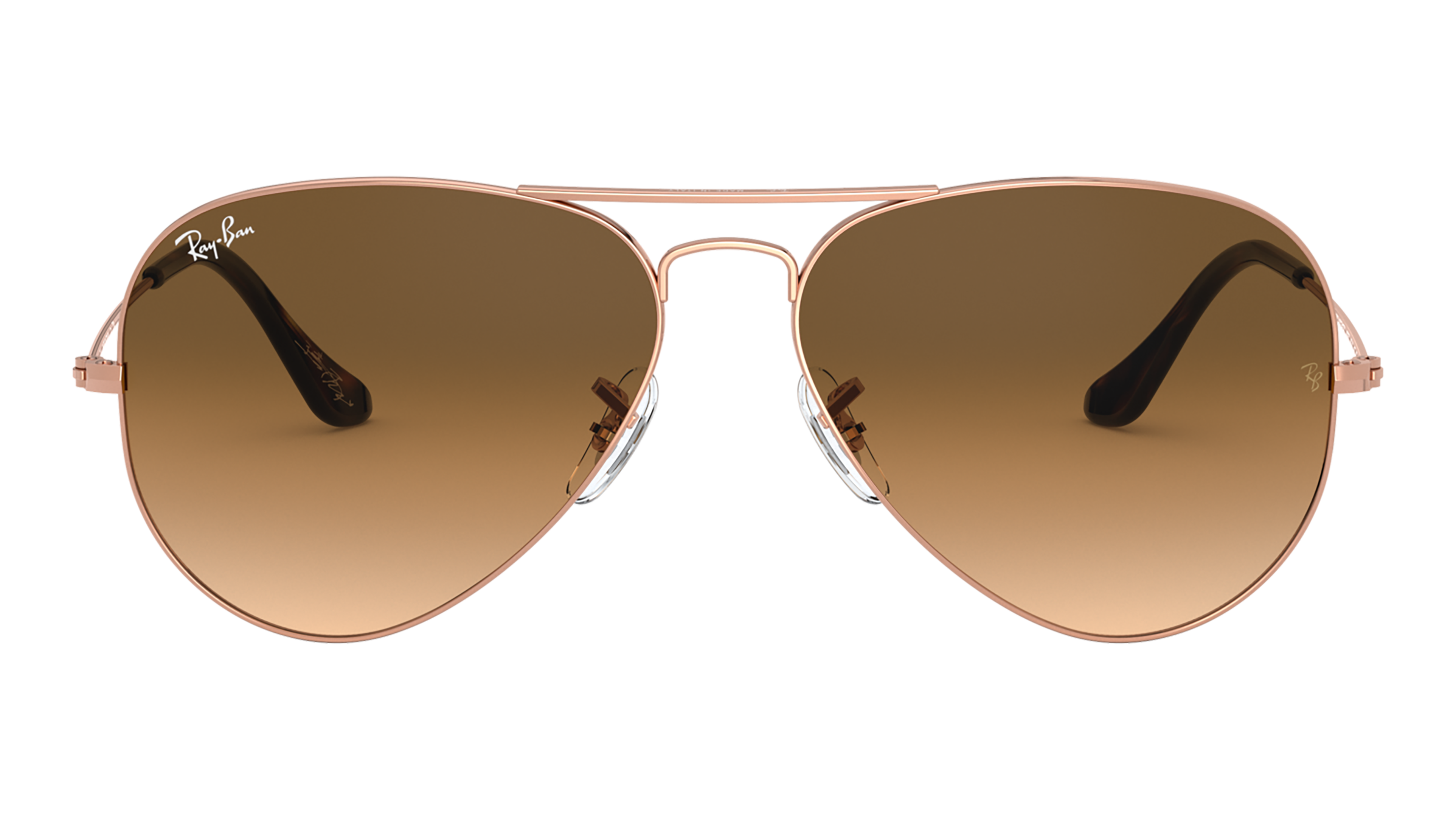 Front Ray-Ban Ray-Ban 0RB3025 903551 62/14 Goud/Bruin
