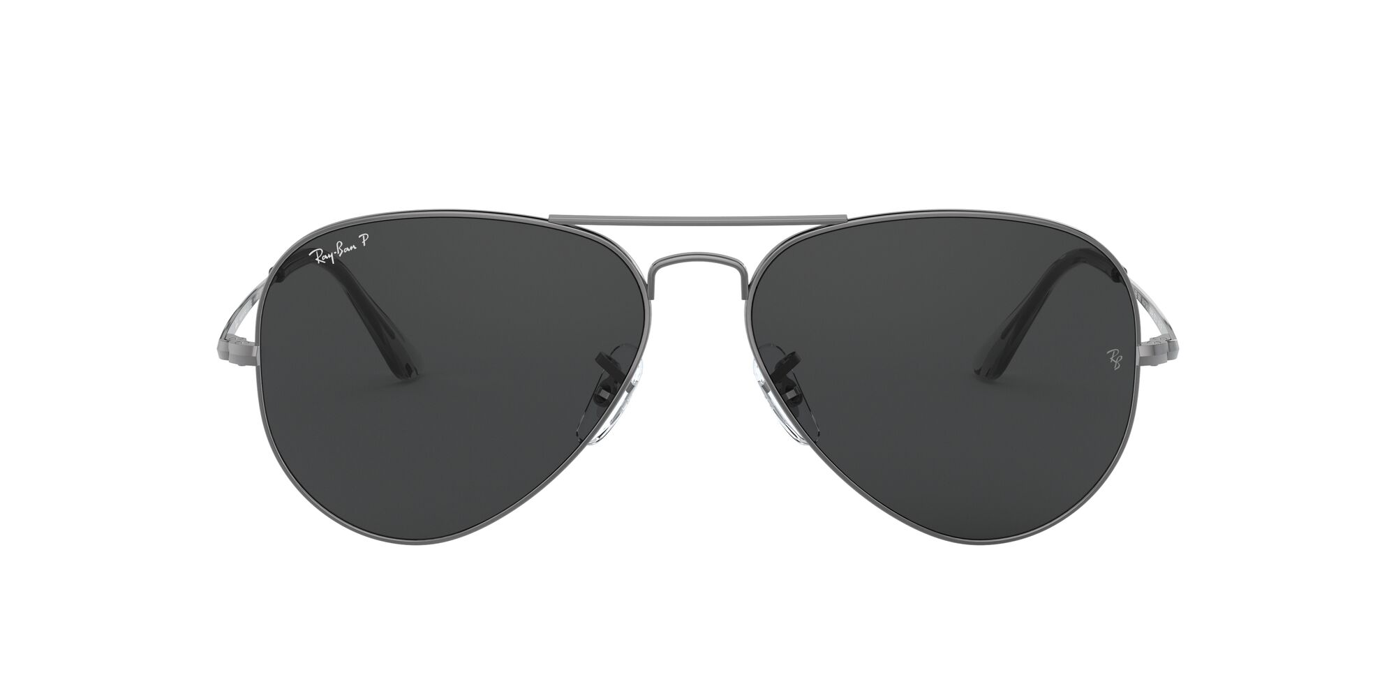 Front Ray-Ban Ray-Ban 0RB3689 004/48 54/14 Zilver/Grijs