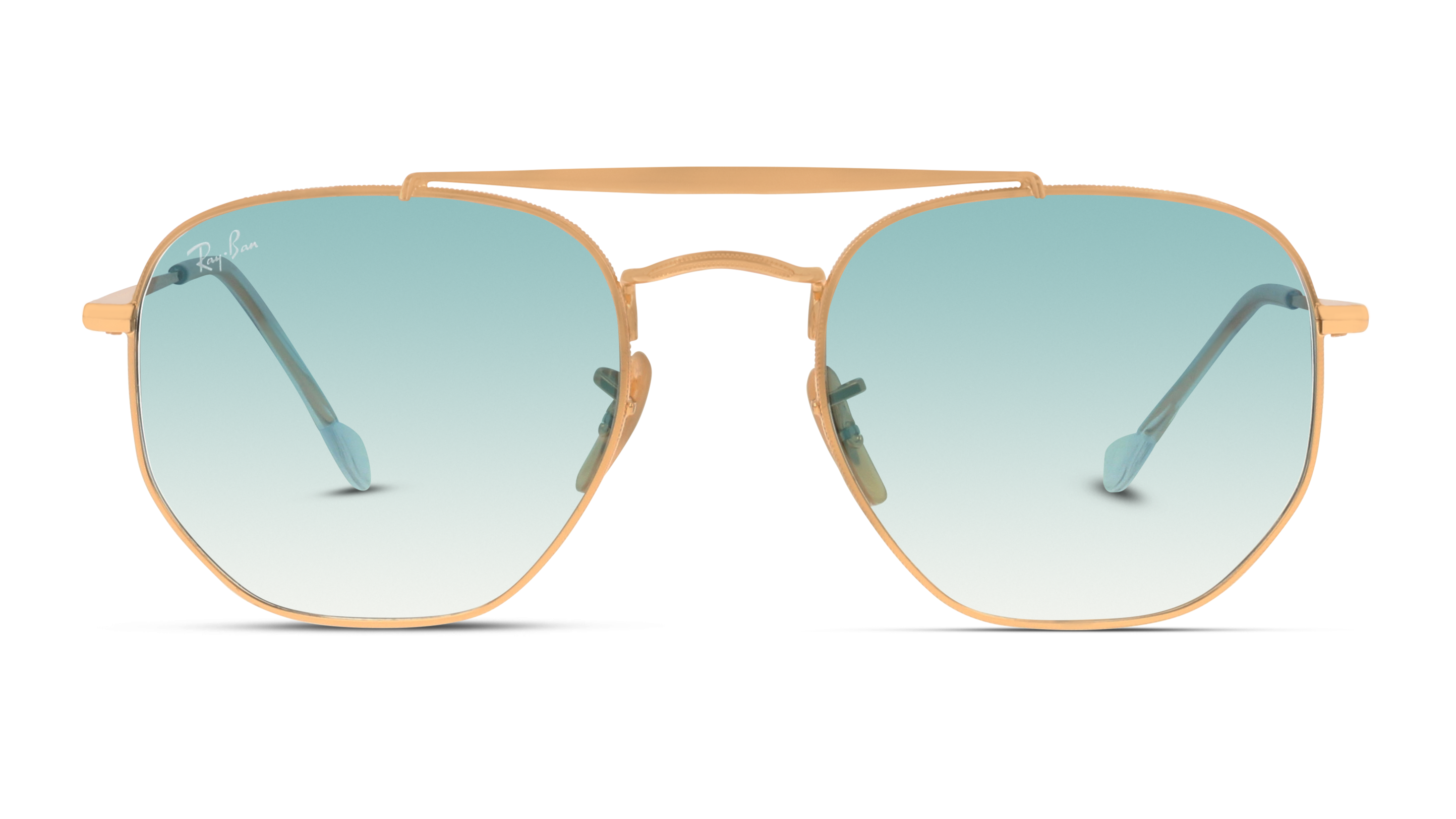 Front Ray-Ban Ray-Ban 0RB3648 001/3F 54/21 Goud/Blauw