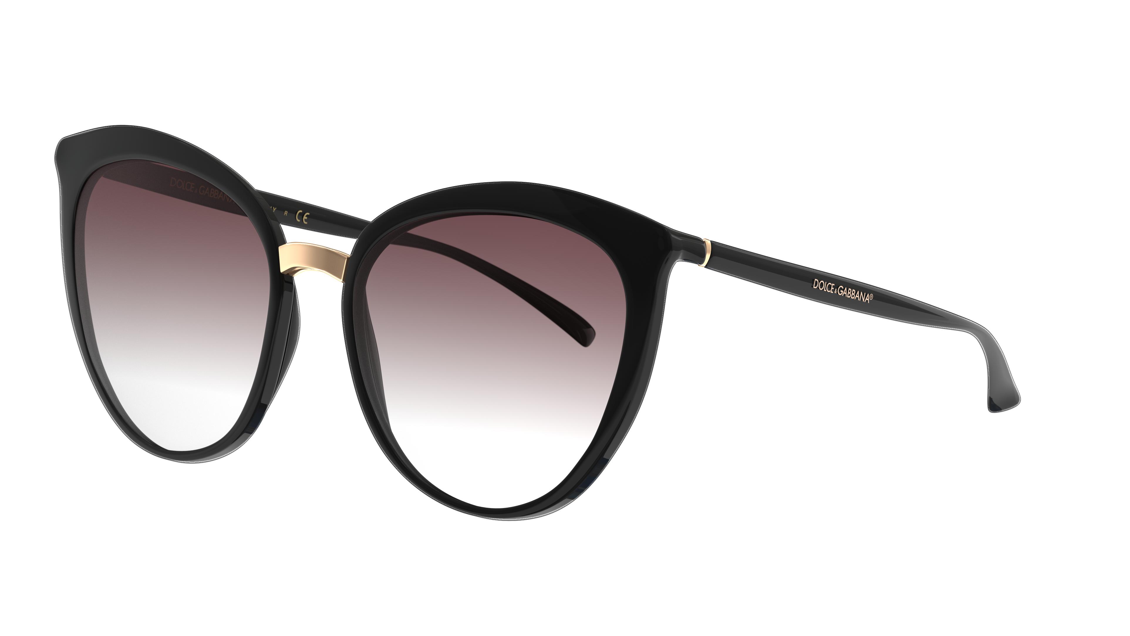 Angle_Left01 Dolce & Gabbana DolceGab 6113 501/8G 55/18 Nero/Grigio