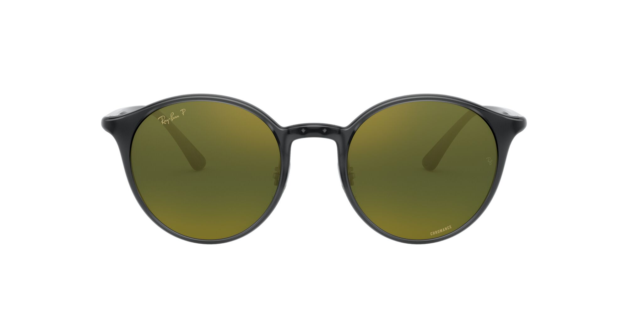 Front Ray-Ban Ray-Ban 0RB4336CH 876/6O 50/20 Transparant, Grijs/Groen
